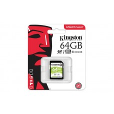 Карта памяті Kingston 64GB SDXC C10 UHS-I R80MB/s
