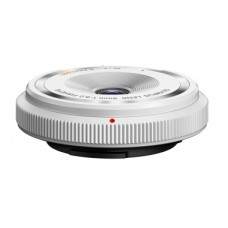 Объектив OLYMPUS BCL-0980 FISH-EYE BODY CAP LENS 9mm 1:8.0 WHITE