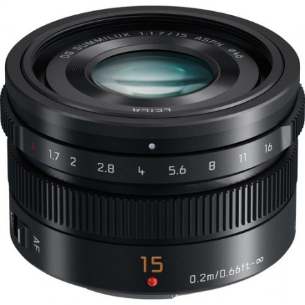 Объектив Panasonic LUMIX G Leica DG Summilux 15mm f/1.7 ASPH. (Black)