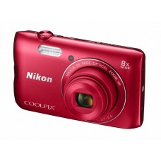 Фотоаппарат NIKON Coolpix A300 Red