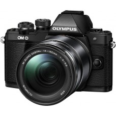 Цифровая фотокамера OLYMPUS E-M10 mark II 14-150mm Kit black/black