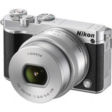 Цифр. фотокамера NIKON 1 J5 +10-30mm PD-Zoom KIT SILVER