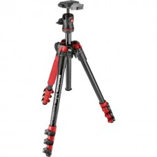 Штатив Manfrotto BEFREE ALU RED TRIPOD+BALL H (MKBFRA4R-BH)