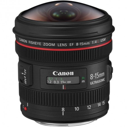 Объектив Canon EF 8-15mm f/4L USM FISHEYE