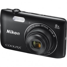 Фотоаппарат NIKON Coolpix A300 Black + 8GB + чехол