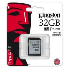 Карта памяти Kingston SDHC 32GB Class 10 UHS-I R45MB/s