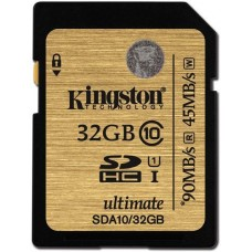 Карта памяти Kingston Ultimate SDHC 32GB Class10 UHS-I R90/W45MB/s