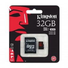 Карта памяти Kingston microSDHC 32GB Class 10 UHS-I U3 R90/W80MB/s + SD адаптер 4K Video