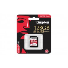 Карта памяті Kingston 128GB SDXC C10 UHS-I U3 R100/W80MB/s