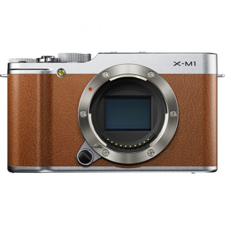 Цифр. фотокамера Fujifilm X-M1 body brown