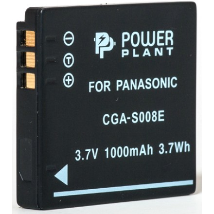 Aккумулятор PowerPlant Panasonic CGA-S008, DB-70, DMW-BCE10