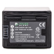 Aккумулятор PowerPlant Canon BP-745 Chip