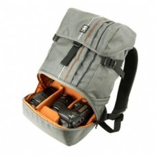 Рюкзак для зерк. фото Crumpler Jackpack HalfPhoto System Backpack (dk.mouse grey/burned orange)