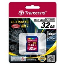 Карта памяти Transcend Ultimate SDHC 32GB Class 10 UHS-I R90MB/s