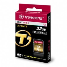 Карта памяти Transcend Ultimate SDHC 32GB Class 10 UHS-I U3 R95/W85MB/s 4K Video